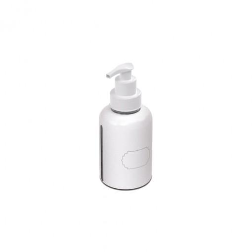 Garrafa de Plástico 280 ml com Bomba para Escrever  - Álcool Gel
