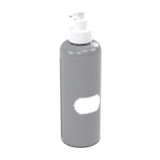 Garrafa de Plástico 970 ml com Bomba para Escrever  - Álcool Gel