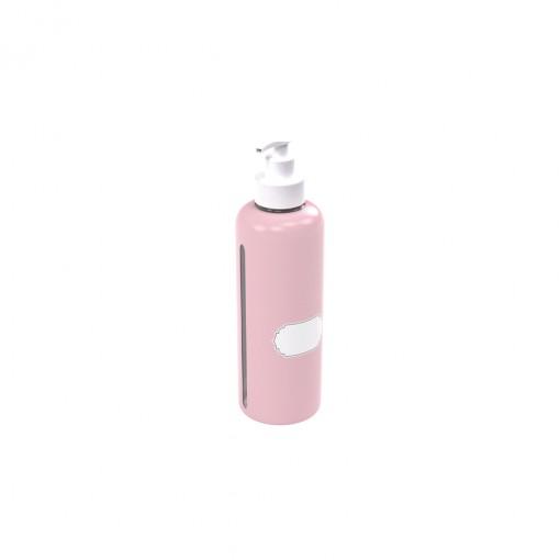 Garrafa de Plástico 970 ml com Bomba para Escrever  -Álcool Gel