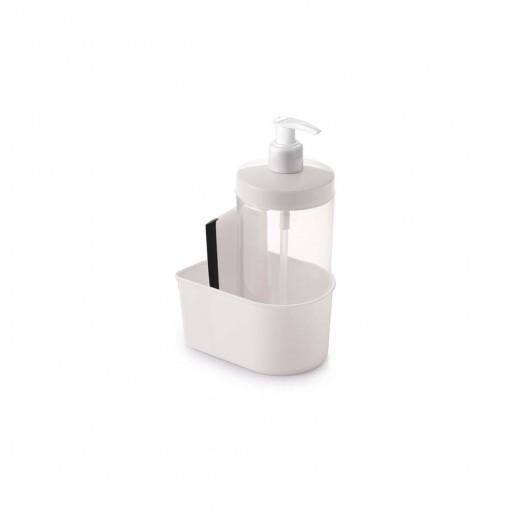 Conjunto para Porta Detergente de Plástico Redondo Compacto