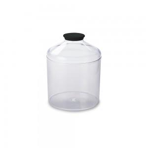 Imagem do produto - Pote de Plástico Redondo 2,7 L Cristal