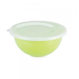 Imagem do produto - Tigela de Plástico 3,3 L com Tampa Duo 360°