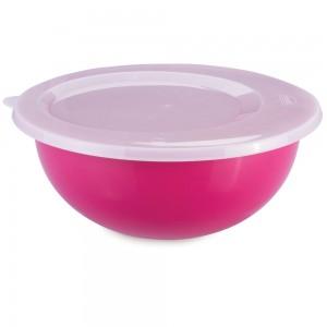 Imagem do produto - Tigela de Plástico 7,6 L com Tampa Duo 360°