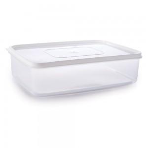 Imagem do produto - Pote de Plástico Retangular 5,6 L Freezer e Micro-ondas