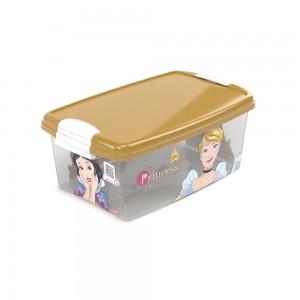 Imagem do produto - Caixa 4,2 L com Trava | Princesas Colecionáveis