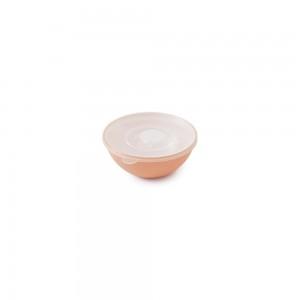 Imagem do produto - Tigela de Plástico 240 ml com Tampa e Válvula Duo 360° Rosa