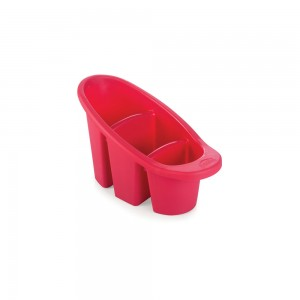 Imagem do produto - Escorredor de Plástico para Talheres 3 Divisórias