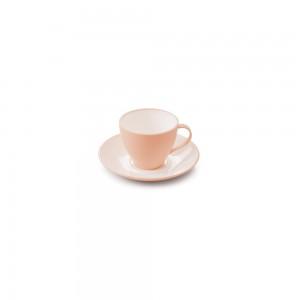 Imagem do produto - Xícara de Plástico de Café 100 ml com Pires Duo 360° Rosa