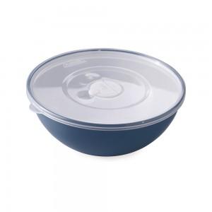 Imagem do produto - Tigela de Plástico 600 ml com Tampa e Válvula Duo 360° Azul