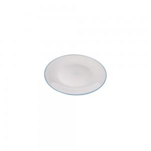 Imagem do produto - Prato de Plástico Sobremesa Duo 360° Azul