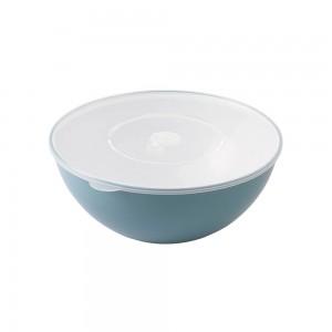 Imagem do produto - Tigela de Plástico 1,4 L com Tampa e Válvula Duo 360°
