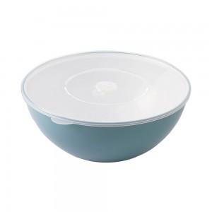 Imagem do produto - Tigela de Plástico 3,3 L com Tampa e Válvula Duo 360°