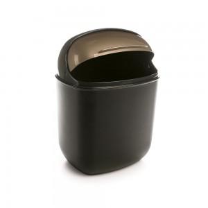 Imagem do produto - Lixeira de Plástico 12 L com Tampa Articulável Flip Top