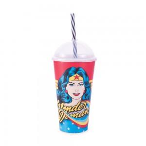 Imagem do produto - Copo Shake 500 ml | Mulher Maravilha