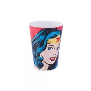 Imagem do produto - Copo de Plástico 320 ml Mulher Maravilha