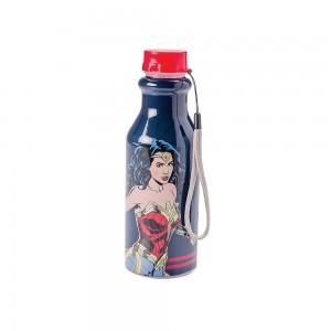 Imagem do produto - Garrafa de Plástico 500 ml com Tampa Rosca Retrô Mulher Maravilha
