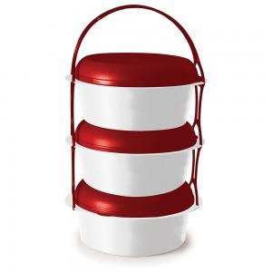 Imagem do produto - Conjunto para Marmitas de Plástico Pequeno 3 Peças