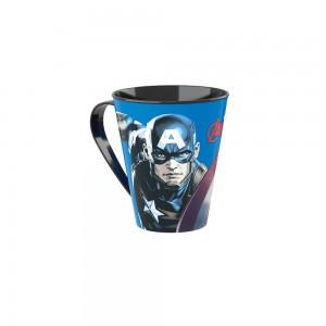 Imagem do produto - Caneca de Plástico 360 ml Avengers Capitão América