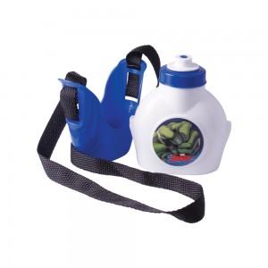 Imagem do produto - Cantil de Plástico 460 ml com Suporte e Alça Avengers Hulk