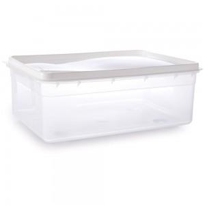 Imagem do produto - Pote de Plástico Retangular 9 L Freezer e Micro-ondas