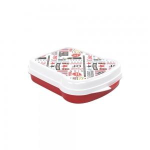 Imagem do produto - Sanduicheira de Plástico com Tampa Fixa Coca Cola