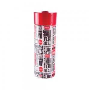 Imagem do produto - Garrafa de Plástico 500 ml com Tampa Rosca Coca Cola