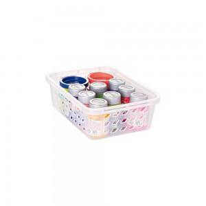 Imagem do produto - Cestinha de Plástico Retangular Organizadora Pequena