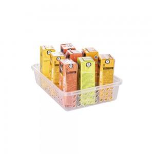 Imagem do produto - Cestinha de Plástico Retangular Organizadora Média