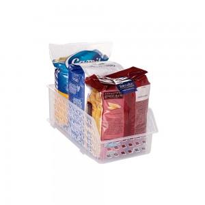 Imagem do produto - Cestinha de Plástico Retangular Organizadora Empilhável