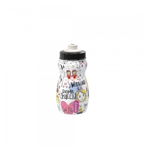 Imagem do produto - Garrafa Squeeze de Plástico 300 ml com Tampa Rosca Emoji