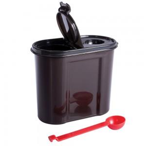 Imagem do produto - Pote de Plástico para Café e Açucar com Colher Tampa e Trava