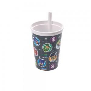 Imagem do produto - Copo com Canudo Fixo   PJ Masks