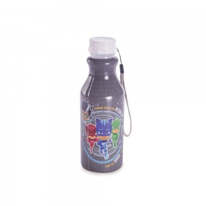 Imagem do produto - Garrafa de Plástico 500 ml com Tampa Rosca Retrô PJ Masks
