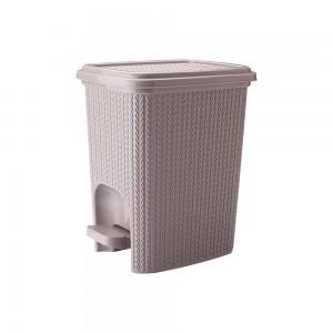 Imagem do produto - Lixeira de Plástico 7 L com Pedal Trama