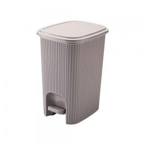 Imagem do produto - Lixeira de Plástico 12 L com Pedal Trama