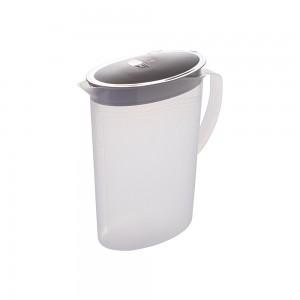 Imagem do produto - Jarra de Plástico 2 L com Tampa Articulável Cinza