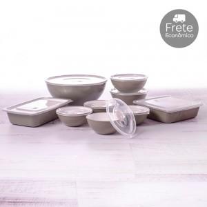 Imagem do produto - Kit de Potes - 9 Peças | Duo 360°