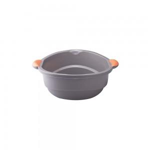 Imagem do produto - Bacia de Plástico Redonda 4,5 L com Pegador Fluir