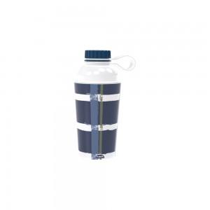 Imagem do produto - Garrafa de Plástico 430 ml com Tampa Rosca Fixa Vip De Bem com a Vida