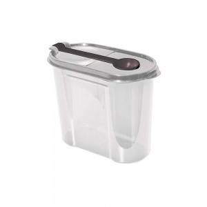 Imagem do produto - Pote de Plástico para Café ou Açucar com Colher Tampa e Trava