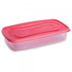 Imagem do produto - Pote de Plástico Retangular 1,43 Clic