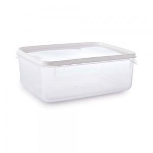 Imagem do produto - Pote de Plástico Retangular 4,3 L Moduline