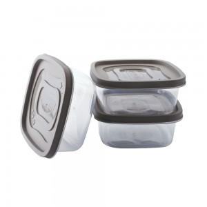 Imagem do produto - Conjunto de Potes 580 ml - 3 Unidades | Clic