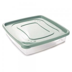 Imagem do produto - Pote de Plástico Quadrado 3,2 L Clic