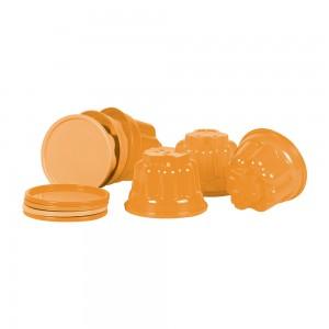 Imagem do produto - Potes para Gelatina de Plástico 6 Unidades Divertido