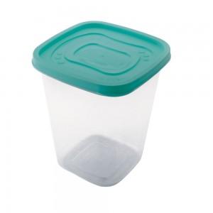 Imagem do produto - Pote de Plástico Quadrado 1,7 L Clic
