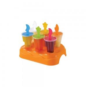 Imagem do produto - Forma de Plástico para Sorvete com 1 Base e 6 Unidades
