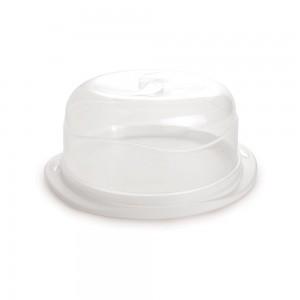 Imagem do produto - Boleira de Plástico Redonda com Tampa Encaixável