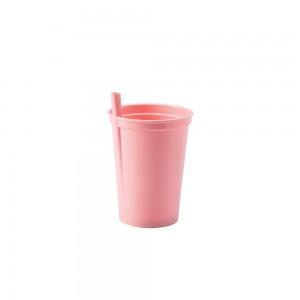 Imagem do produto - Copo de Plástico 350 ml com Canudo Fixo
