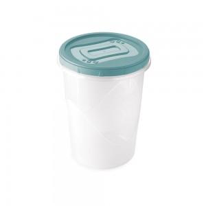 Imagem do produto - Pote de Plástico Redondo 1 L Rosca